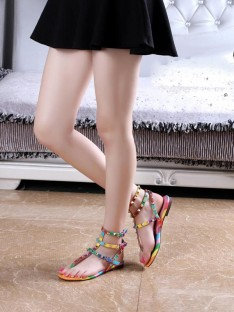 Colorful Sandal Schuhe S5LSDN52524LF